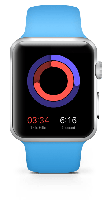 Random Run syncs with your Apple Watch